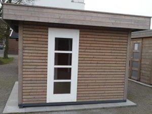Ein modernes polnisches Holzhaus